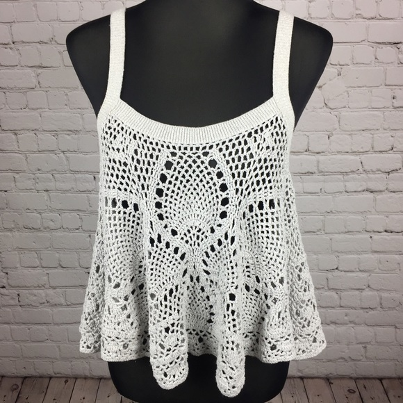 Free People Tops Carefree Crochet Camisole Poshmark